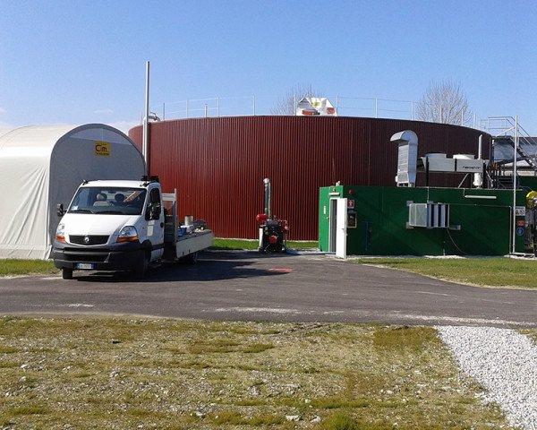 Noleggio impianti di biogas - Termoidraulica Ceron Treviso