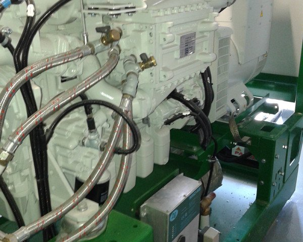 Biogas, scambiatore 100 kw Foto Termoidraulica Ceron Treviso