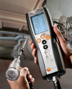 Dispositivo per effettuare l'analisi del fumo - Termoidraulica Ceron Treviso