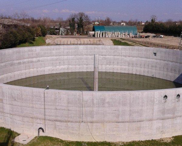 Biogas, vasca impianto digestore - Foto Termoidraulica Ceron Treviso