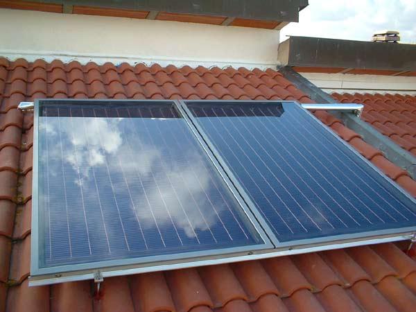 pannello solare piano