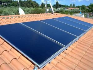 pannelli solari per acqua