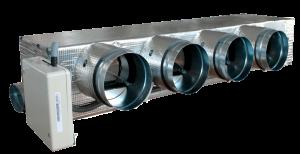Collettore distribuzione condotti aria, per la deumidificazione