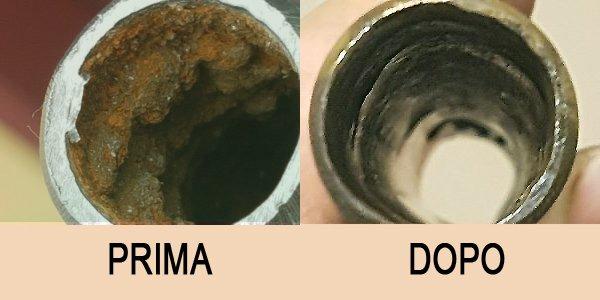 Risanamento tubi pulizia chimica tubi termpodraulica ceron treviso