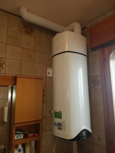 Scaldabagno in pompa di calore