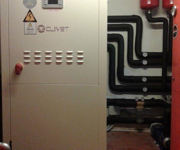 Pompa di calore acqua/acqua Clivet