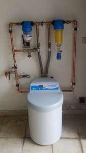 Addolcitore d'acqua domestico